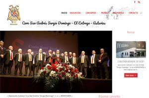 18 años en Internet . Tercera versión de la web del Coro San Andrés