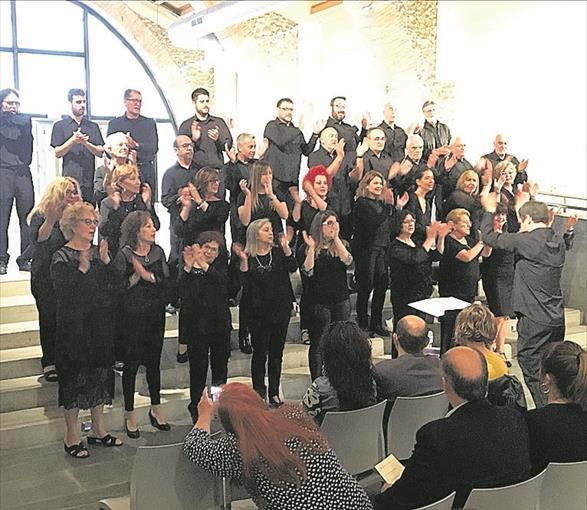 Benicarló y Asturias unen sus voces en un encuentro coralista